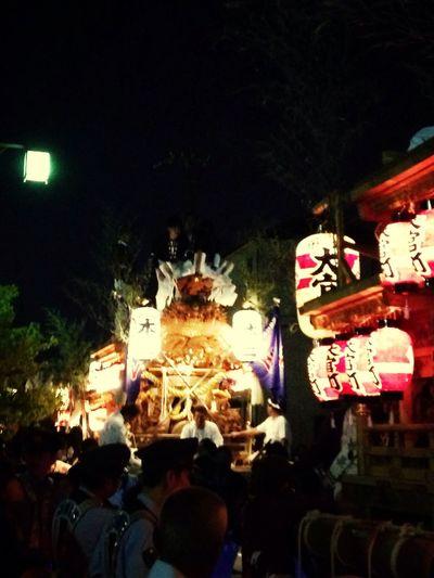 尼のだんじり だんじり Festival