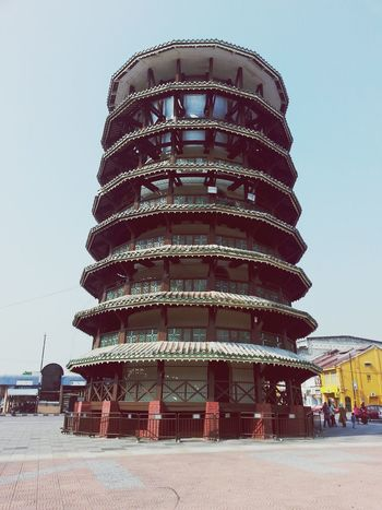 Menara Condong Leaning Tower Building Architecture
