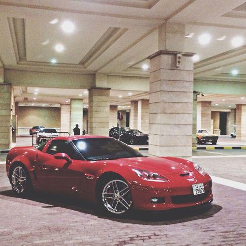 Corvette Corvette Zo6 Red