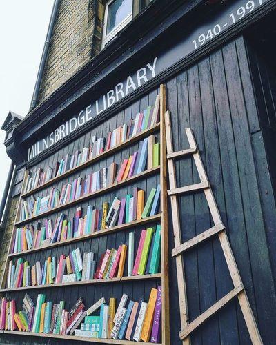 Bookshelf MilnsbridgeLibrary Library Close-up Yorkshire Huaweiphotography Huddersfield