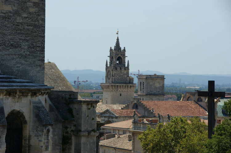 Avignon Avignon, France Building Exterior Church City Clear Sky Cross France History Religion Rooftops Neighborhood Map Your Ticket To Europe