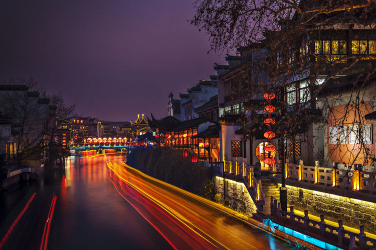 Hidden Gems-Nanjing Qin Huai River Ancient Architecture Ancient Culture China City Life Confucius Temple Cruise Nanjing Scenics The Urban Landscape Travel Water Famous Famous Places Hidden Gems  Night Night View Nightphotography Nightscape Qin Huai River River Tourist Attractions Tourist Destination