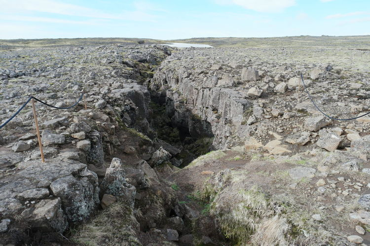 Split between two continents Europe and America tectonic plates Continents Earthquake Eurasia Eurasian Europe EyeEm Best Shots Geographic Ice Landscape Plate Rock Tectonic Wide Angle Wide Shot