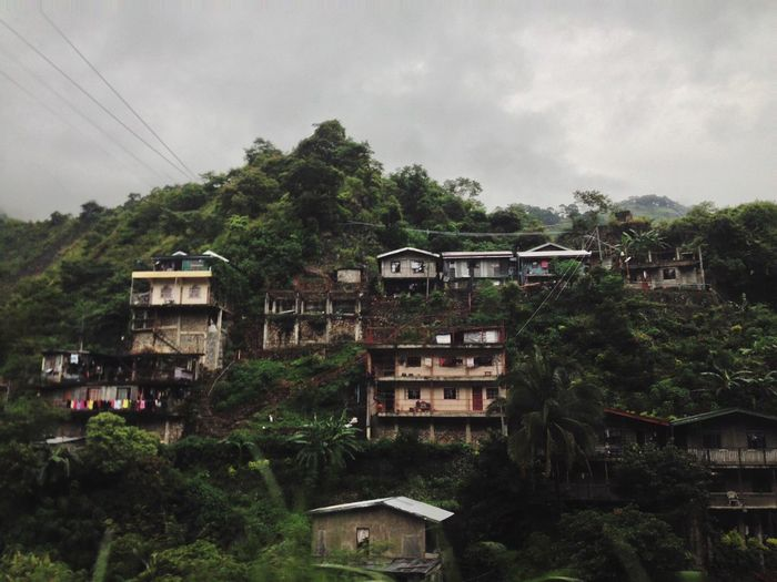 Lost In The Landscape Baguio EyeEmNewHere House Mountain Houses Residents Travel Philippines Rainy High Altitude Calm Calming Landscape