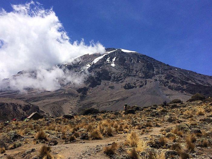 MountKilimanjaro Kilimanjaro Tanzania Mountain Photography Outdoor Photography Amazing Trekking Trek Adventure Gadventurestour Gadventures Tanzanianationalparks Kilimanjaronationalpark Mountainphotography Mountain View