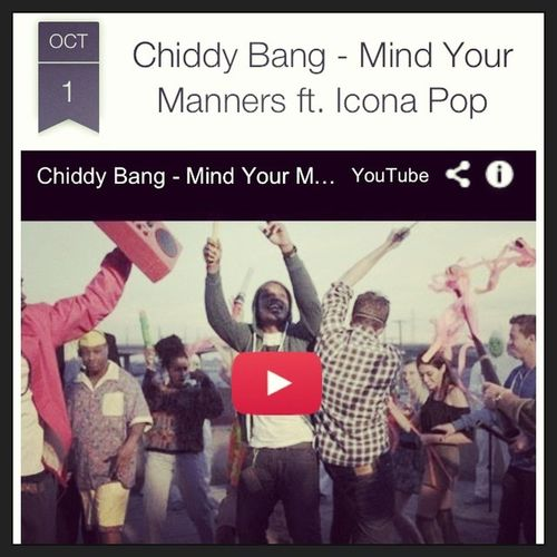 ChiddyBang Mindyourmanners Music Blog jimbosports website daily business musicvideos jimbosportsdailymusic google blogspot share