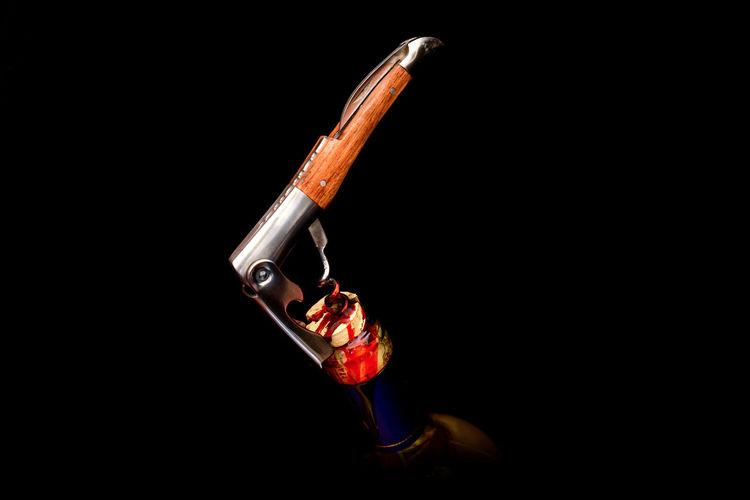 Bloody Wine BLOODY Crime Omicide Black Background Blood Bottle Close-up Corkscrew No People Predator Splatter Studio Shot Weapon Wine