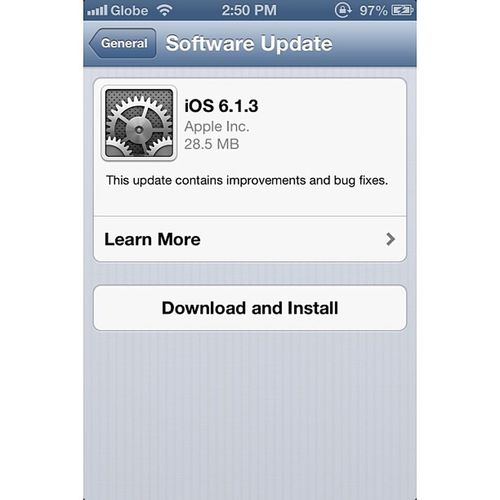 """Your life should always upgrade never downgrade"" IOSupgrade Apple IPhone Ios613 teamiphone upgrade instagram igersmanila"