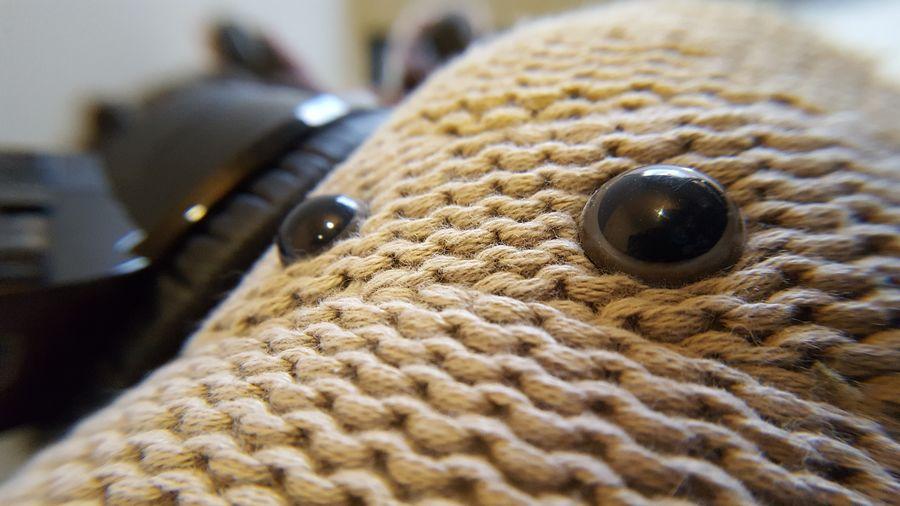 A close up