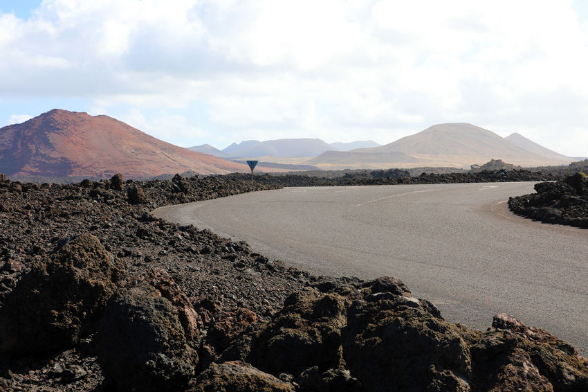 Martian landscape in Lanzarote Amazing Landscape Desert Dunes Lanzarote Lanzarote Island Lanzarote-Canarias Mars MoonScape Road Timanfaya Timanfaya National Park Dunescape Lanzarote Collection Lava Martian  Martian Landscape Red Desert Red Ground Sand Street Photography Volcanic Crater Volcanic Landscape Volcanic Rock Volcano Yaiza