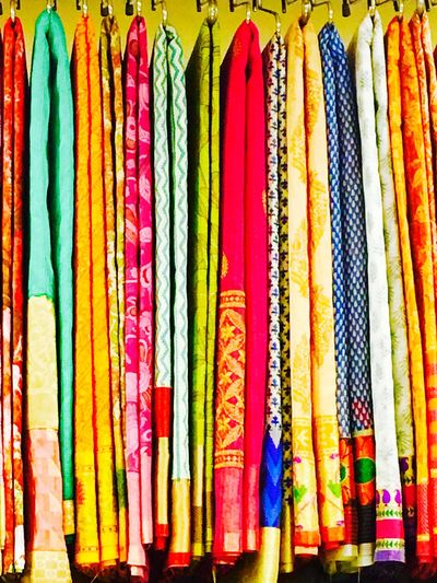 Prints and shades Sari Heritagebeauty Prideoftheindianwoman Multi Colored Prints Cultures Indianbazzar Material Textile Design