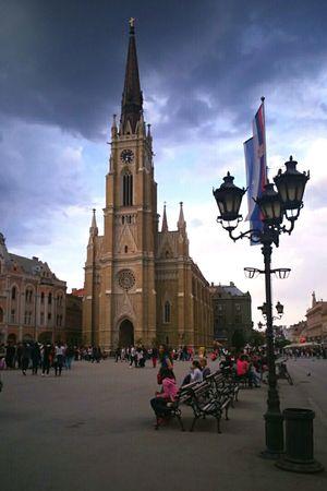 Catedral, Novi Sad, Serbia 😍 Hello World Novisad Check This Out Enjoying Life EyeEmSerbia Alexandracubrak Catedral