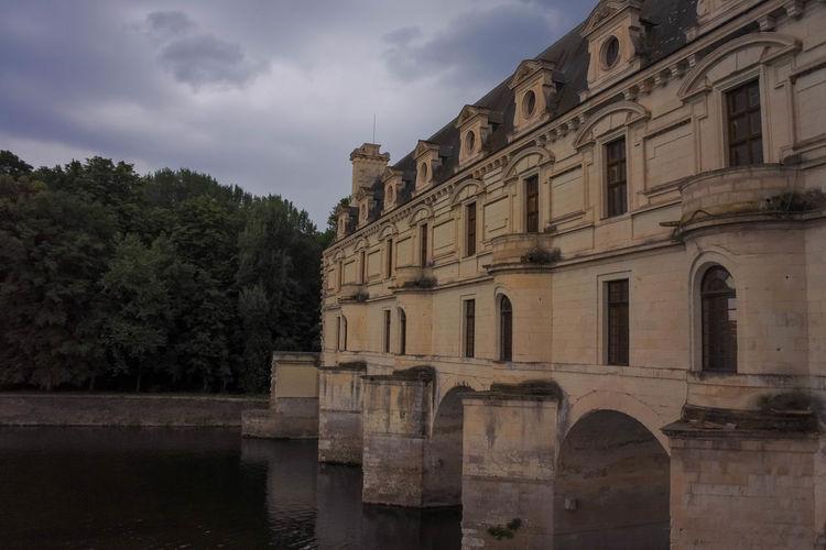 Arch Architecture Castle Chenonceau Chenonceaux Château De Chenonceau Château De La Hulpe Indre Indre Et Loire Loire Moyen âge Old Age Old Castle Renaissance