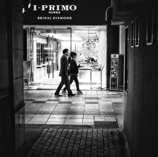 Walkers Luck Trial Streetphotography Black And White Monochrome A Frame Within A Frame Looking To The Other Side Rule Of Thirds / LUMIX GX1 usual set 50mm No Filter The Street Photographer - 2015 EyeEm Awards