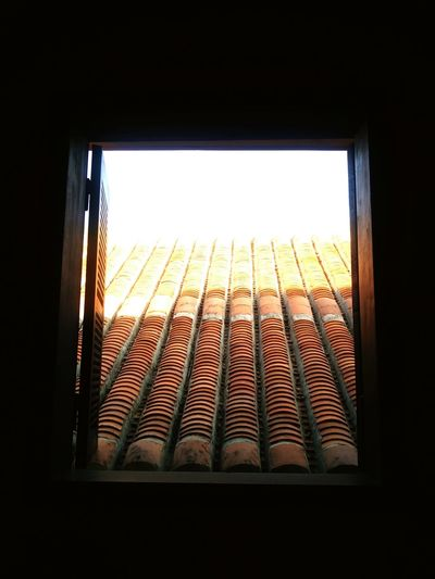 Break open the darkness holding you back, and fly into light. #heritage House #OldButCute #wornout #charmingcity #hoianmarket #windowshot #windowview #open Air #breakopen #escape #Light & Shadow #tiles #rooftop #throughthewindow #warmth #tropicalsun City Cityscape Window Sunset Sunlight Architecture Sky Close-up Built Structure