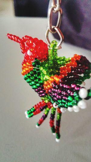 Brillas y brillas tan lindaBirds Souvenir Llavero Pajaros Recuedos Recuerdos Colors Colibrí Small