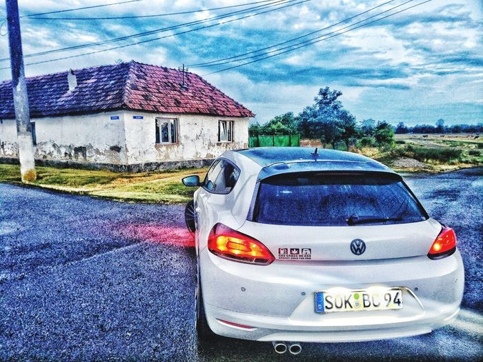 Car Architecture Transportation Built Structure Land Vehicle Building Exterior No People Outdoors Day Sky VW Scirocco