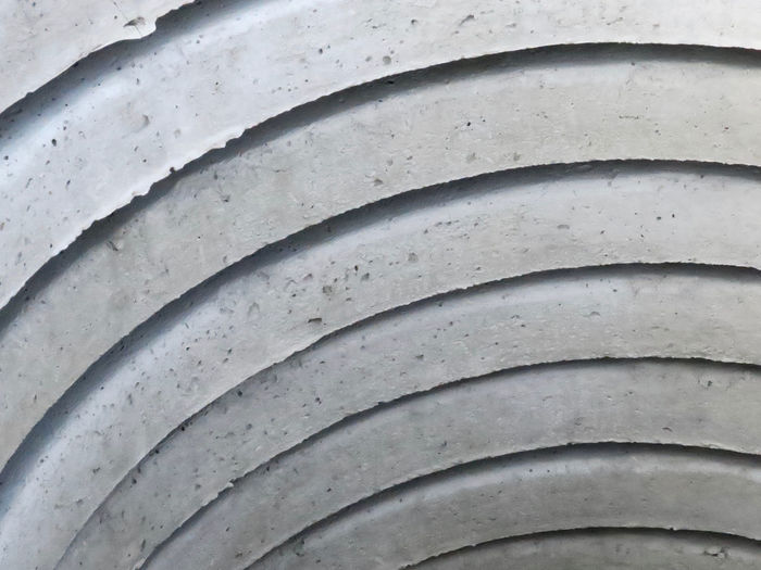 stack of concrete stones Backgrounds Full Frame Pattern No People Close-up Textured  Architecture Sewer Pipes Repetition Outdoors Shape Design Day Construction