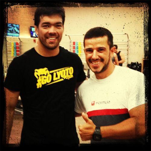 Lyoto campeão do UFC academia fórmula Exercise