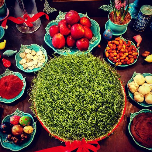 Haft (7) seen traditional table of NOWROZ