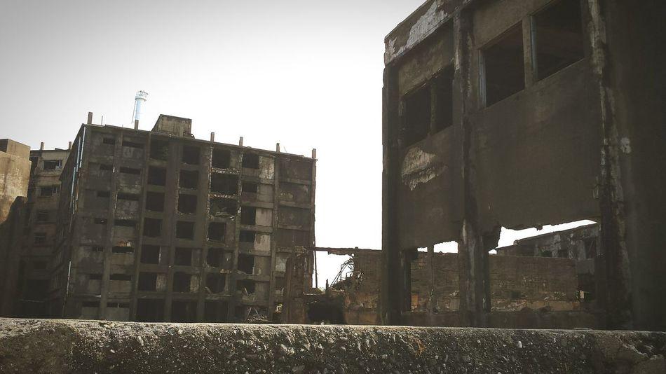 軍艦島(gunkan-jima) 廃墟 Ruins_photography Ruins Romans