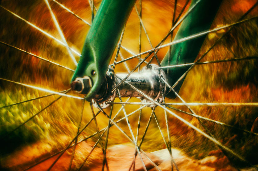 20161009 - Bike Bike Bikes Close-up Swirly Bokeh Swirl Bokeh Autumn🍁🍁🍁 Autumn Colors Autumncolors Bike Life CyclingUnites