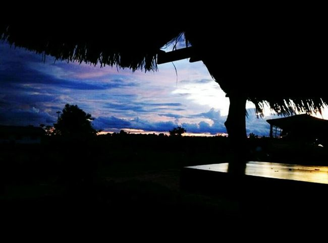 Silhouette Tourist Resort Sky Blue Cloud Cloud - Sky Beauty In Nature Moody Sky Vacations Thailand_allshots Dark Photography Chilling Outside Thailand Photos Outdoors Relaxation Meerblick Thailand Sea View Sunsetlover Sunsetporn Sea And Sky Eye4photography  sunset sun clouds skylovers sky nature beautifulinnature naturalbeauty photography landscape [ Silhouette Blue