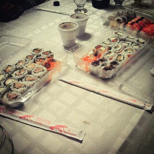Sushi and Coffees Onthenight