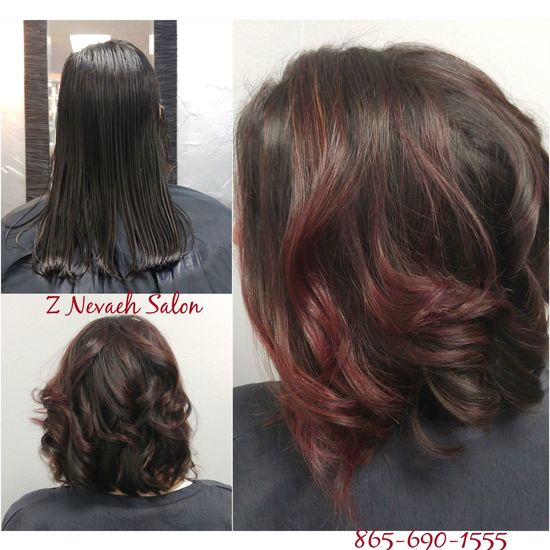 Chocolate Raspberry Balayage & Check This Out Pro Fiber Color Specialist Eye4photography # Photooftheday Haircolor Salonlife Haircut Hairstyle Fashion #style #stylish #love #TagsForLikes #me #cute #photooftheday #nails #hair #beauty #beautiful #instagood #instafashion # L'Oreal Professionnel Z Nevaeh Salon Lorealprofessionnelsalon Knoxvillesalon Teamznevaeh @znevaehsalon Saloneducation Hairtrends Lorealprous Hair Balayage Tecni.art Vivid Colors Haircut @znevaehsalon