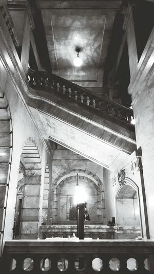 NYC Surrogate Courts Marble Stairs Marble Stairs
