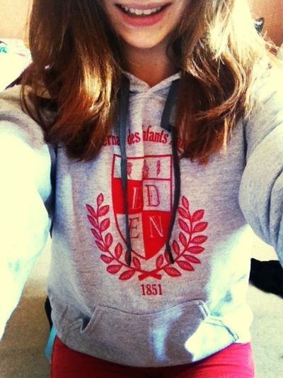 Sweat of my school !!! That's Me Smile Sportswear Red