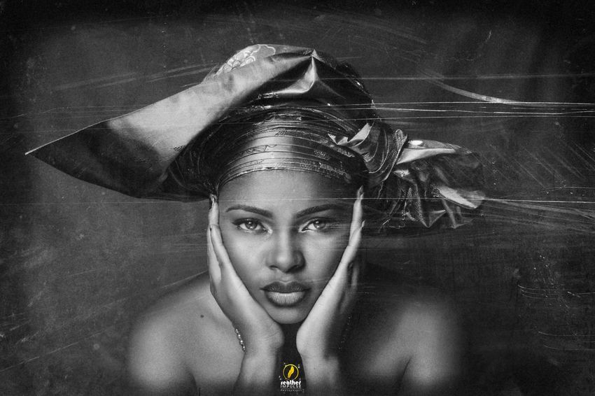 In the shades of grey. Nigerians Beautiful Beautiful Woman Makeup ♥ Lighting Monochrome Blackandwhite Feather Impulse Shades Of Grey