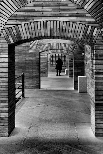Architecture Real People Full Length Built Structure Arch Walking One Person