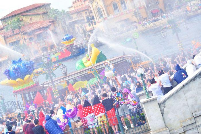 Tokyo Disney Sea Photography Japan EyeEm Water Show Summer Disney Minnie's Tropical Splash Summer Festival