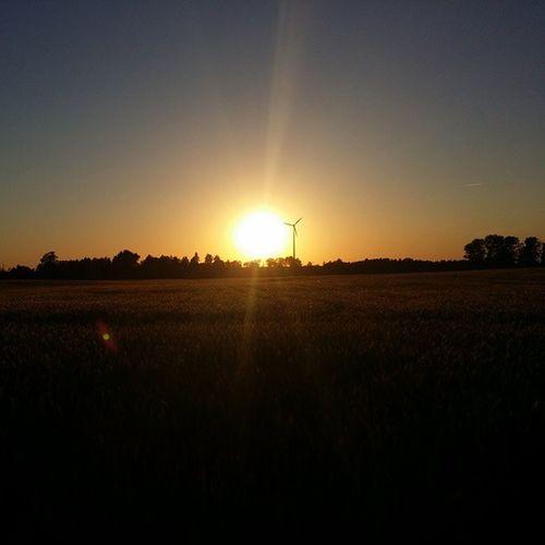 Jest Moc Poland Polska Cebula  Słuńce Sun Twighlight Night Rowery Bike Ride Zachodslonca Zachod Słońce Slonce Zachodzi Sram Szlaban Pole Farming Madafaka L4l Dawidcam Iksde xdlellolaloneso