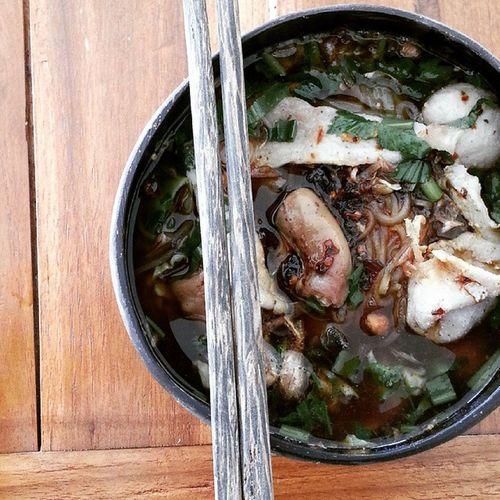 ก๊วยเตี๋ยวเป่าปาก ถลาง Phuket เผ็ด ไม่ต้องปรุง อร่อย