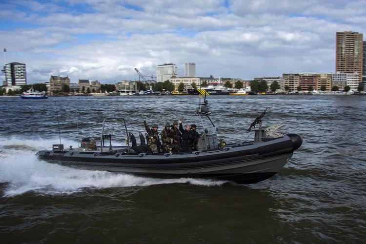 Marine vessel Boat Day Dutch Marine Harbour Days Mode Of Transport Nautical Vessel River Rotterdam Transportation Water Waterfront