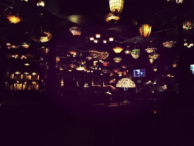 Bar Art Nouveau Tiffany Lamp Midtown