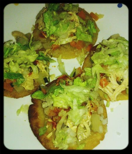 My first crack at making my grandmother's recipe for sopes. Success Puro Jalisco Cabrones Y Asi Quedaron Mis Sopes...