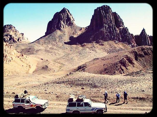 Exploration au Hoggar -Algeria.
