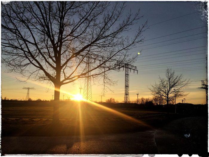 Energie Farbenspaß Sunset_collection Licht Und Schatten Abendstimmung