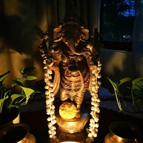 Ganesha idol at