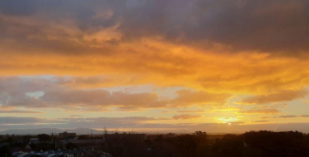 SUNRISE Sunrise Multi Colored City Cityscape Urban Skyline Multi Colored Beauty Mountain