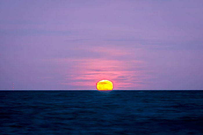 Blood Moon 2018 Blood Moon 2018 Moon Rising Beach Beauty In Nature Horizon Horizon Over Water Moon Reflected In Water Nature Outdoors Scenics Sea Sky Tranquility Water