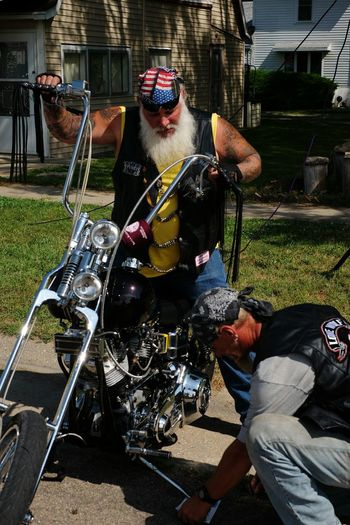 Getting Ready Car Show Motorcycles Chopper My Neighborhood Portrait Of America Small Town USA Check This Out Old Settlers Picnic Bikers Outsiderin Real People Biker Life Americana A Day In The Life