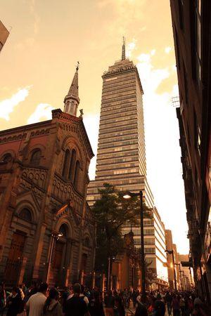 Calle: Francisco I. Madero Mexico City Mexico MéxicoD.F. Urban Geometry Urbanphotography Streetphotography Church