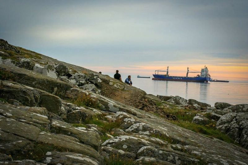 Every night I sit in my mind thinking that I want to escape it all. Taking Photos Varberg, Sweden Lightroom Boats Hello World Check This Out EyeEm Nature Lover Nature Ocean View Peoplephotography Varberg Kurort Varberg Boat Ship