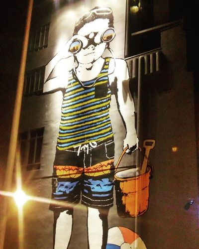 Beach Boy Mural @ 7th and Wilshire in Santa Monica across the street from Whole Foods. Beachboy Santamonica Santamonicabeach Santamonicapier Beach California Cali SoCal Losangeles Wilshire Wilshireand5th Wilshireand7th