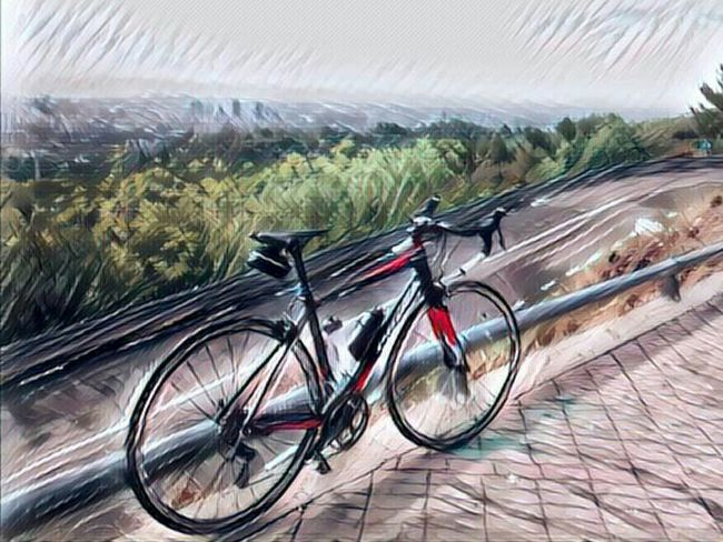 Dia de fer pedals, moment de relax Cycling Bicycle Stravacycling Stravaphoto Art Filter Road Orbea Orbeabicycles Barcelona