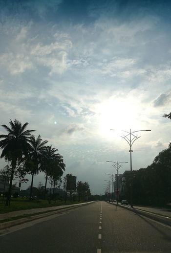 Cloud - Sky Car Street Road Outdoors Citta Mall Subang Airport Sun Glare